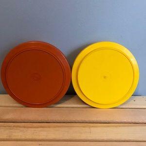 Tupperware Kitchen - Two Vintage Tupperware Bowls/Lids